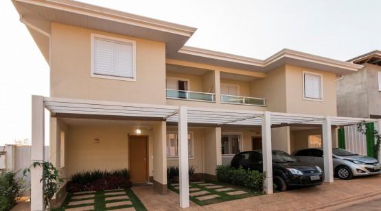 Textura aplicada como acabamento da casa