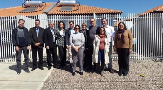 Comissão Técnica em visita às Moradias Nilo