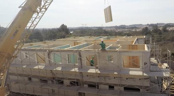 Primeiro prédio em wood frame do Brasil