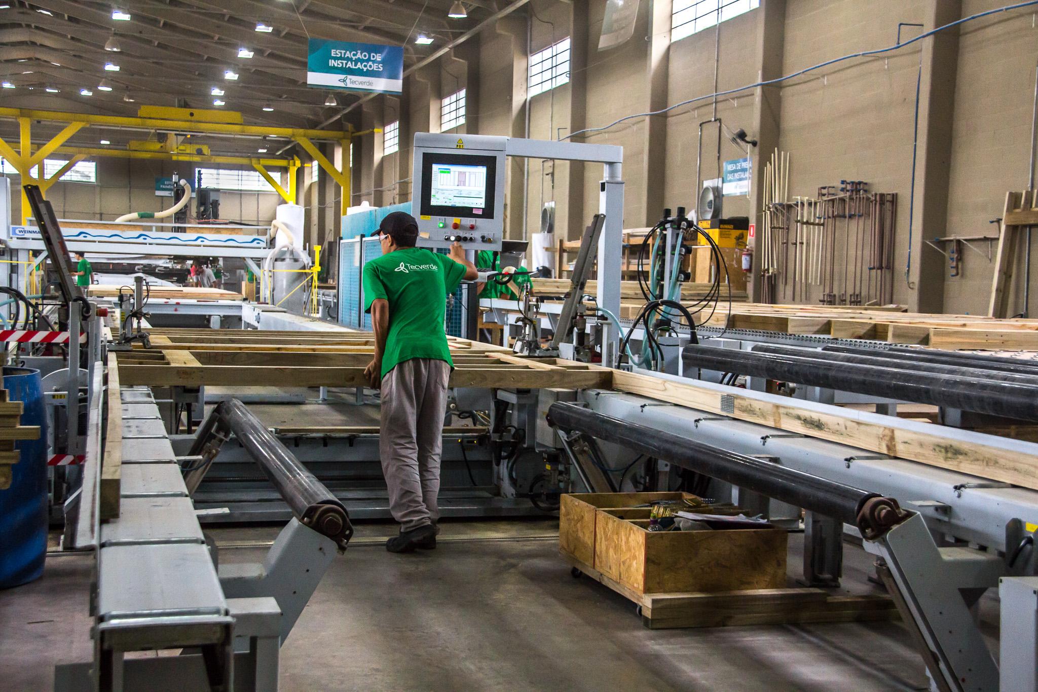 Imagem da Fábrica Tecverde modelo de construção off-site