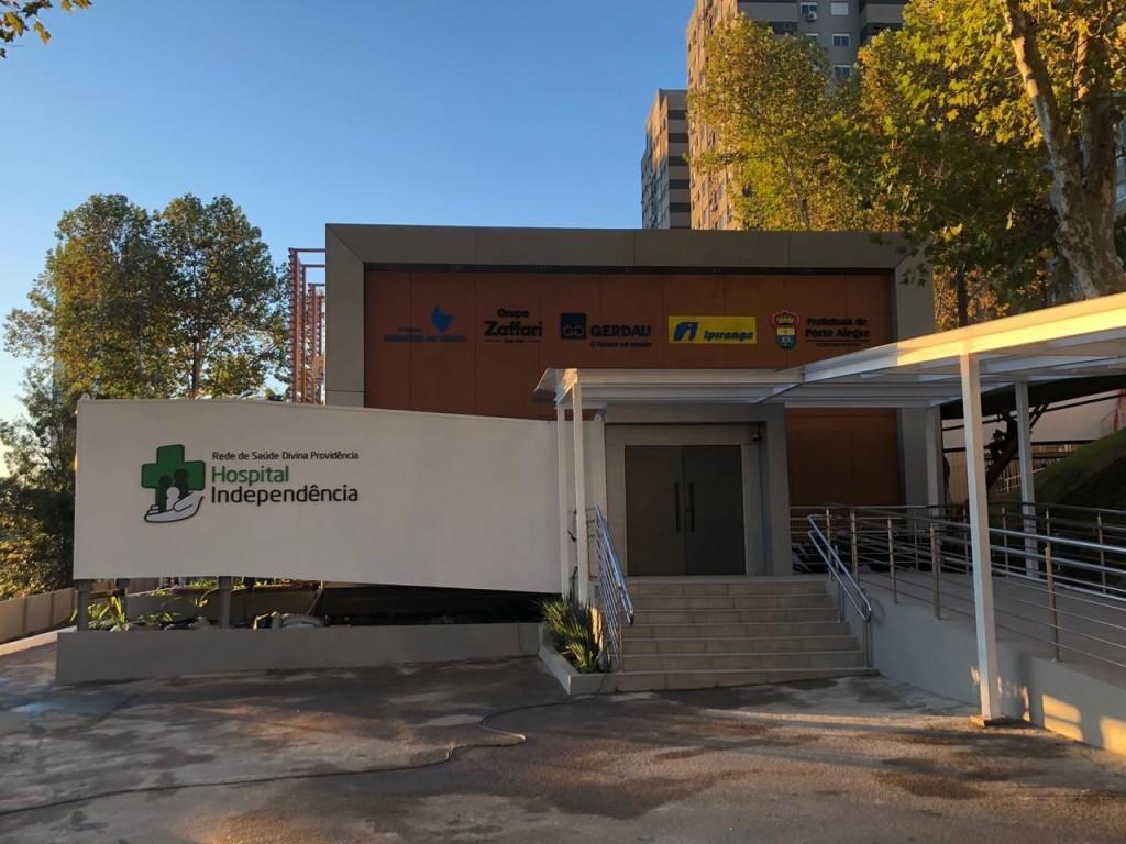 Fachada Hospital Independência