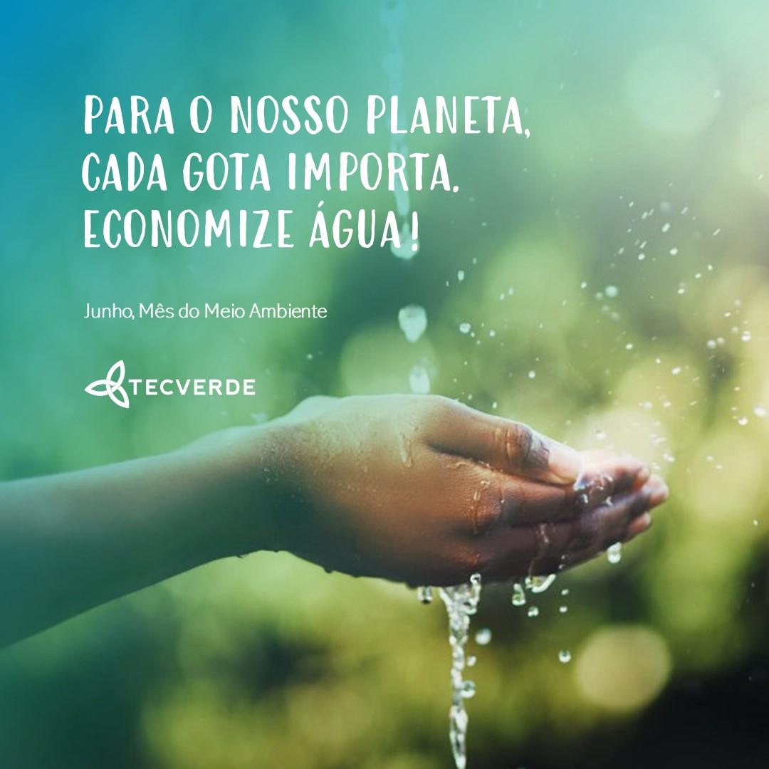 Campanha Água | Tecverde