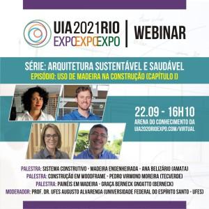 Arquitetura Sustentável e Saudável - Uso de Madeira na Construção. 22/09 às 16h10