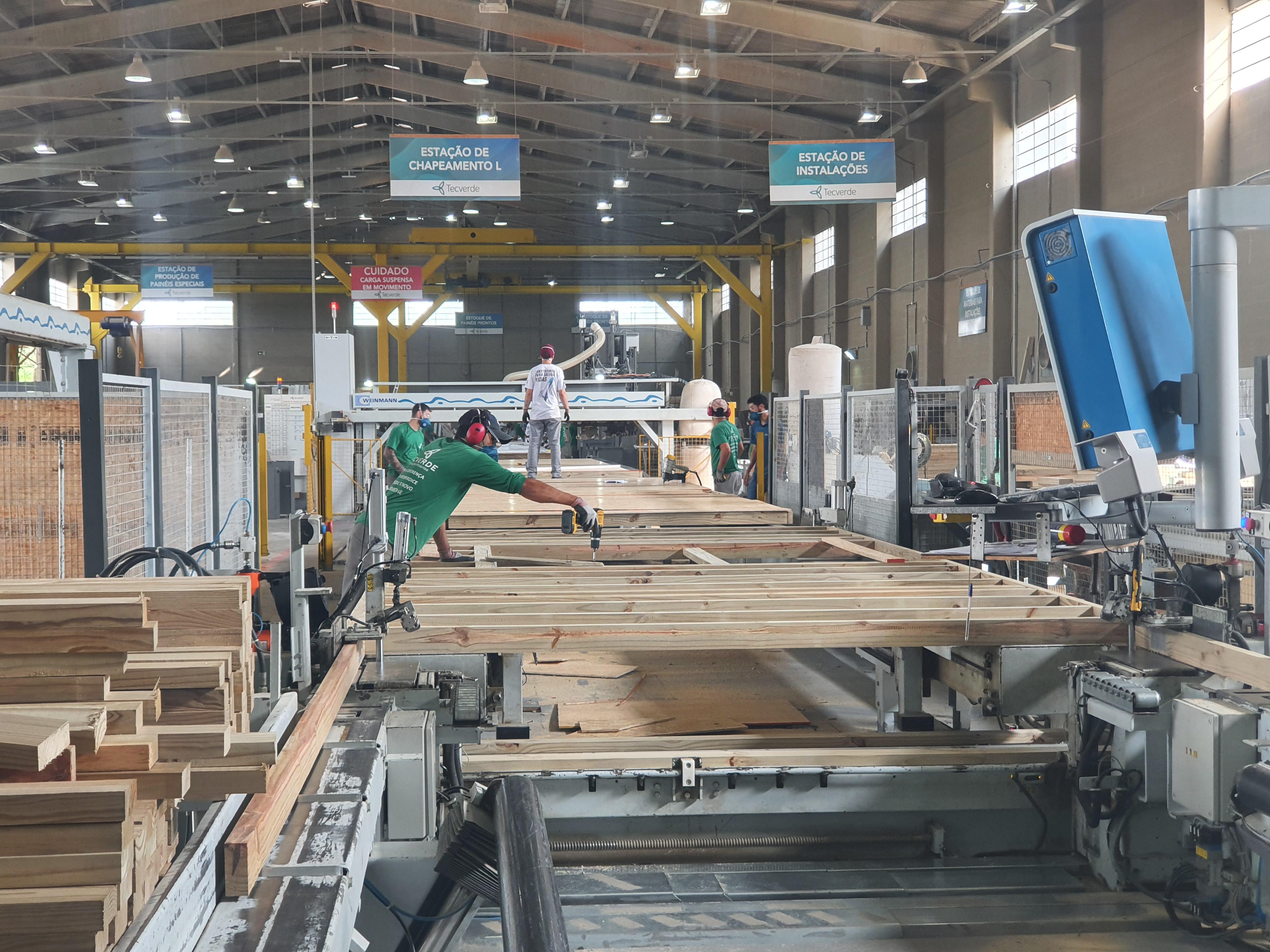 Fábrica da Tecverde em Araucária (PR)